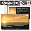 Ocean Sunset - PowerPoint Template