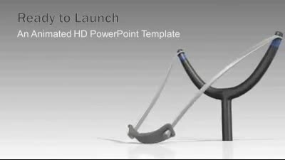 ID# 7384 - Ready To Launch - PowerPoint Template