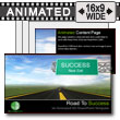 Road To Success - PowerPoint Template
