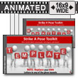 Strike A Pose Toolkit - PowerPoint Template