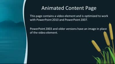 Water drop a powerpoint template from presentermedia id7472 widescreen template water drop toneelgroepblik Choice Image