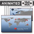 ID# 7479 World Map Tool Kit PowerPoint Template