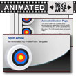 ID# 7504 - Split the Arrow - PowerPoint Template