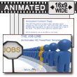 ID# 7505 - The Job Line - PowerPoint Template