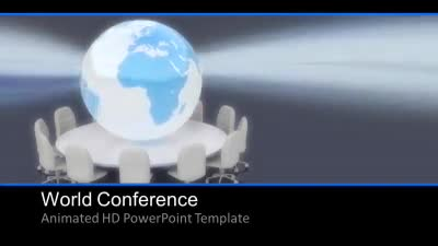 ID# 7506 - World Conference - PowerPoint Template