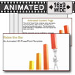 ID# 7535 - Teamwork Raise Bar Graph - PowerPoint Template