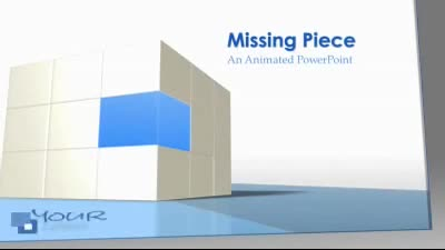 ID# 7570 - Missing Piece - PowerPoint Template