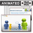 Social Networking People - PowerPoint Template