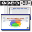 Business Pie Chart - PowerPoint Template