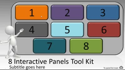 Interactive Panels Tool Kit - A PowerPoint Template from ...