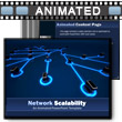 ID# 8249 Network Scalability PowerPoint Template