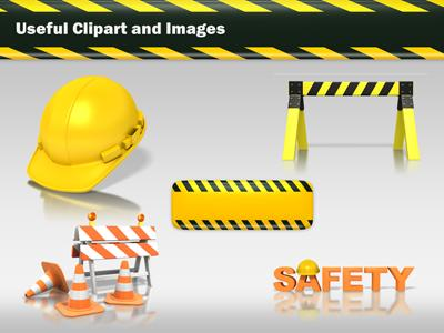 Hard Hat Work Safety PowerPoint Template