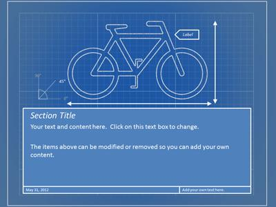 Blueprint tool kit a powerpoint template from presentermedia malvernweather Images