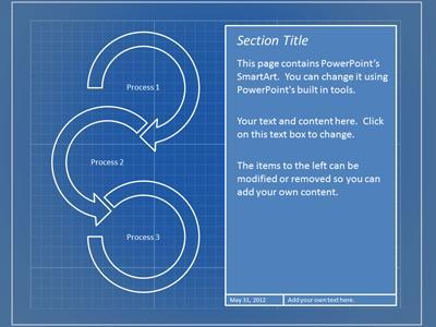 Blueprint templates idealstalist blueprint tool kit a powerpoint template from presentermedia com malvernweather Images