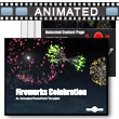 ID# 8768 Fireworks Celebration PowerPoint Template