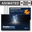 ID# 9195 - Reading Magic - PowerPoint Template