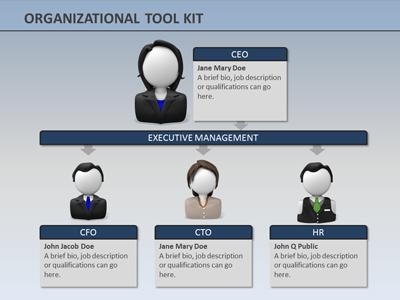 Organizational Tool Kit PowerPoint Template