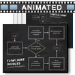 Flowchart Doodles PowerPoint template