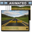 ID# 9884 Road Trip PowerPoint Template