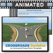 Crossroads Decision - PowerPoint Template