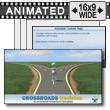 ID# 9998 - Crossroads Decision - PowerPoint Template