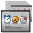 Clock Tool Kit PowerPoint template