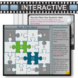 Puzzle Piece Picture Reveal Game PowerPoint template