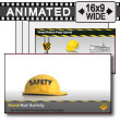 Hard Hat Safety PowerPoint template