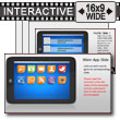 ID# 10860 - Tablet Apps Interactive - PowerPoint Template