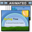 ID# 11769 Spring Time PowerPoint Template