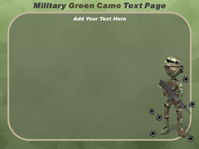 Military camo a powerpoint template from presentermedia toneelgroepblik Gallery