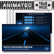 ID# 11890 Devices Highway PowerPoint Template