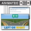 ID# 12038 - Left Or Right - PowerPoint Template