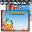 ID# 12138 Summer's Here PowerPoint Template