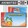 ID# 12144 - Summer's Here! - PowerPoint Template