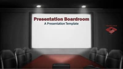 ID# 12247 - Presentation Boardroom Meeting - PowerPoint Template