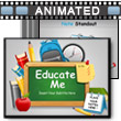 ID# 12486 Educate Me PowerPoint Template