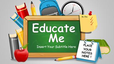 Education subjects a powerpoint template from presentermedia id powerpoint template toneelgroepblik