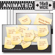 Sticky Note Tool Kit PowerPoint template