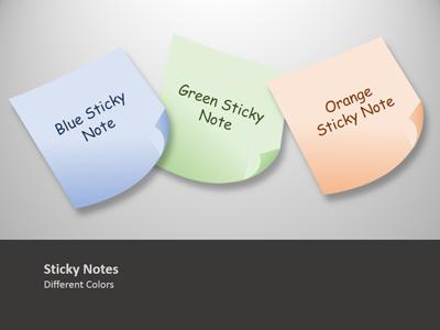 Sticky Note Tool Kit - A Powerpoint Template From Presentermedia.Com
