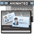 ID# 12582 Id Badge Tool Kit PowerPoint Template