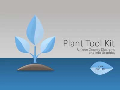 ID# 12597 - Plant Tool Kit - PowerPoint Template