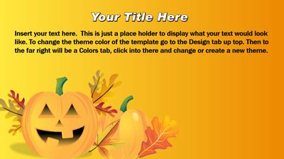 Fall saturation a powerpoint template from presentermedia home powerpoint templates toneelgroepblik Images