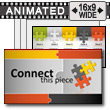 ID# 13015 - Connect This Piece - PowerPoint Template