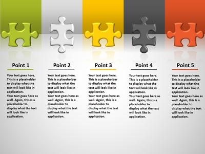 Connect This Piece PowerPoint Template