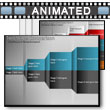 ID# 13038 Four Section Comparison Reveal PowerPoint Template