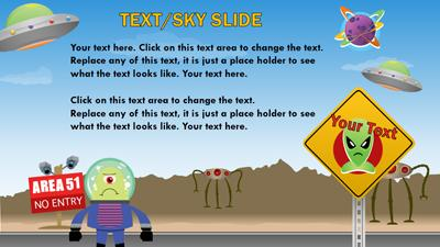 Sci fi playground a powerpoint template from presentermedia home powerpoint templates toneelgroepblik Image collections