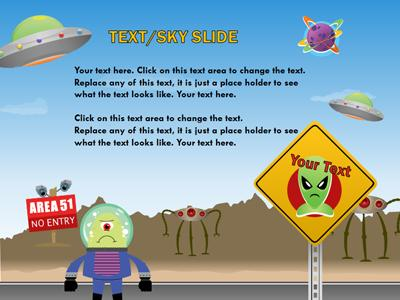 Sci fi playground a powerpoint template from presentermedia toneelgroepblik Image collections