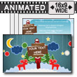 Paper Holiday PowerPoint template