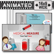 ID# 13714 - Medical Measure Toolkit - PowerPoint Template